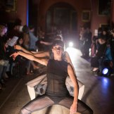 Of Dust and Air performed by 8 dancers.© Stuart Leech. (Click image for larger version)