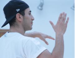 Dance UK Boys Breaking Specialist Bilal Oussellam