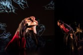 Made in China is co-created and performed with Gao Yanjinzi, artistic director of Beijing Modern Dance Company Qiu Xia He, award-winning classical Chinese musician of Vancouver's Silk Road Music Sammy Chien, a video and sound artist Wen Wei Wang, artistic director of Wen Wei Dance