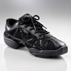 WEB DS19 BLACK, Sneakers de jazz CAPEZIO enfant, WEB DS19, Sneaker de danse jazz CAPEZIO adulte, danceworld, bruxelles.