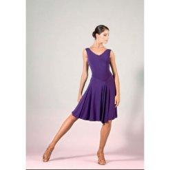 robe de danses latines sheddo la609w, robe de tango, robe de salsa, Robe-justaucorps de salsa et danses de salon INTERFIL LA609W, de la collection SHEDDO, Dance World, Bruxelles