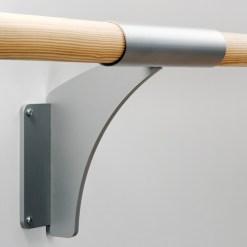 Barre de ballet simple à fixation murale ARABESQUE SIMPLE