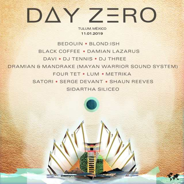 Day Zero Festival reveals full lineup and announces a second stageDay Zero Lineuo