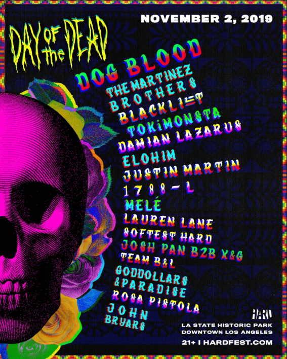 Dog Blood, The Martinez Brothers, ZHU's Blacklizt all top HARD Day of the Dead lineupImage 10