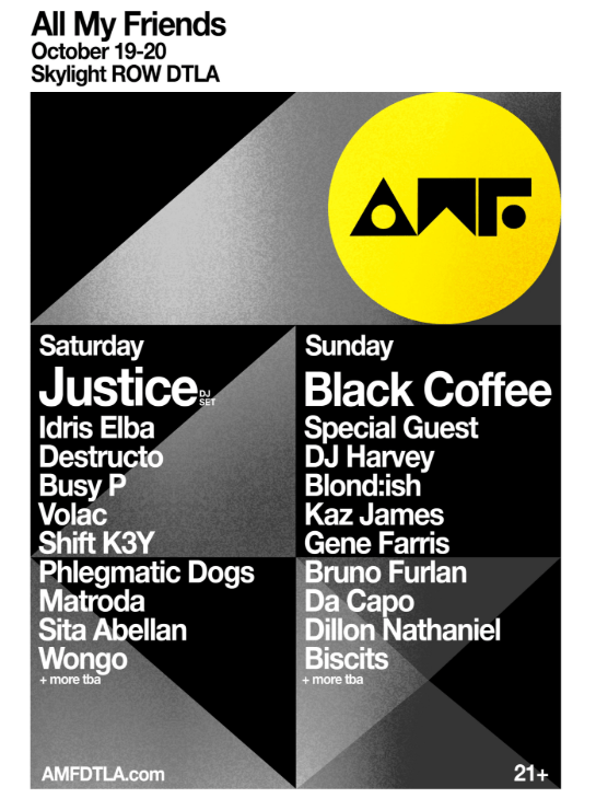All My Friends festival to bring Justice, Black Coffee, Busy P, and more for second editionImage 18