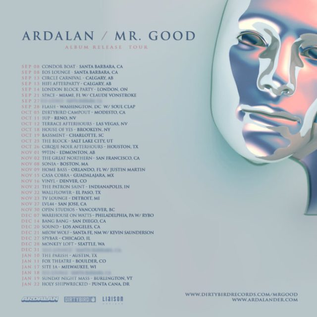 Ardalan announces inaugural LP on DIRTYBIRD, tour to followCorrect Tour Art Ardalan