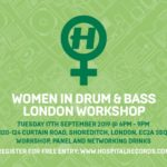 Hospital Records works toward gender equality with first Women in Drum & Bass London WorkshopHospitalRecordsWomeninDNB