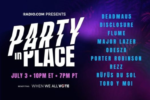 deadmau5, Disclosure, ODESZA, and more top Party In Place virtual ticketParty In Place