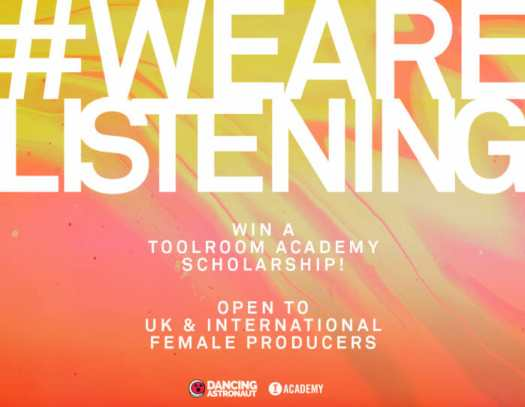 Calling all female DJs/producers—compete for a chance to win a scholarship to Toolroom AcademyScholarship