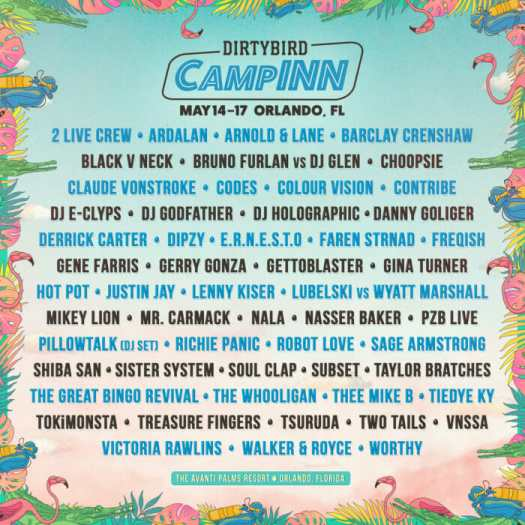 Claude VonStroke, TOKiMONSTA, Mr. Carmack and more tapped for Dirtybird CampINNUnnamed 2