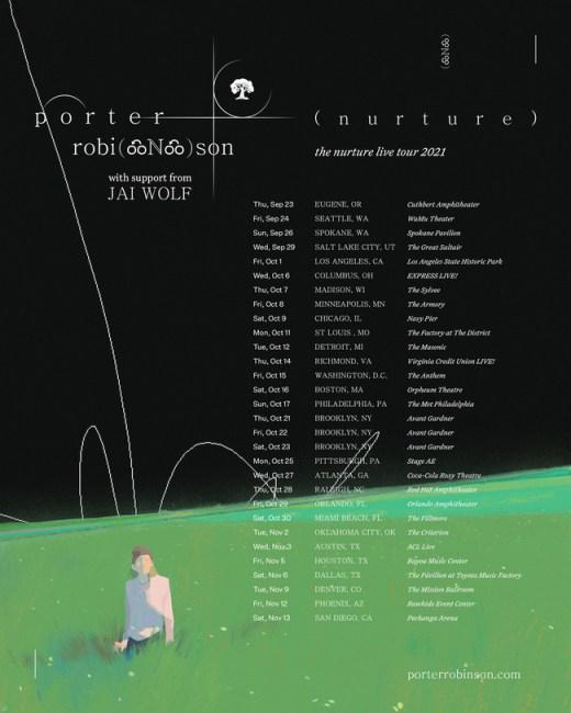 Porter Robinson announces 30-stop 'Nurture' live tour for fall 2021Tp PorterNurtureTour1 1