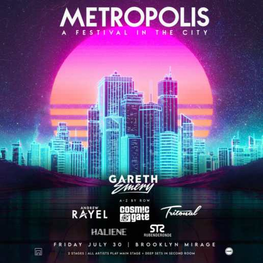 Gareth Emery set to host two-stage event at Brooklyn Mirage, MetropolisE4geStEAE Rvg 1