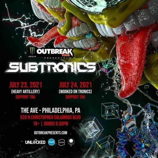 Monster Energy Outbreak Tour, Subtronics head to Philadelphia for two-night runSubtronics