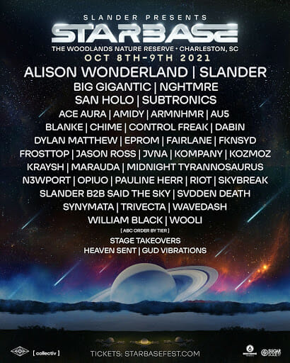 SLANDER debut outer space-themed Starbase Music Festival with stellar inaugural lineupStarbase