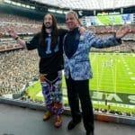 Watch Steve Aoki, Bruce Buffer welcome Raiders fans to Allegiant StadiumBrucebiffer Raiders Twitter