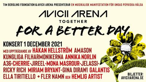 Stockholm's Avicii Arena plans first mental health awareness event in honor of Avicii29vh FABDv2 1