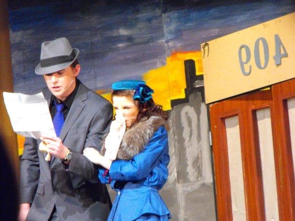 Matty and Jemima as Nathan and Adelaide