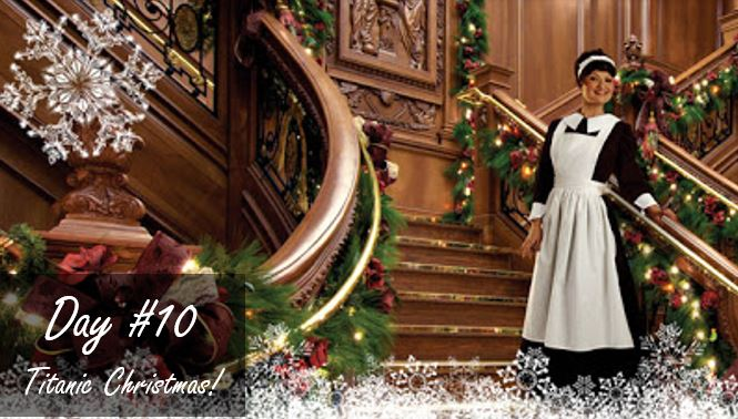 Titanic Decorated for Christmas