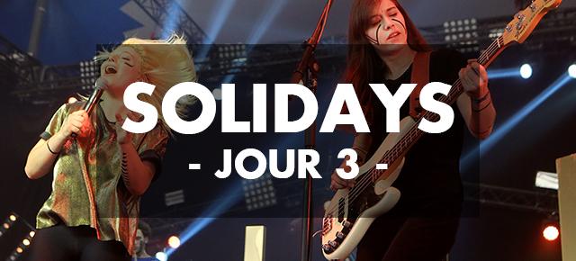 Solidays 2015 // Jour 3: The Parov Stelar Band, Fakear, Lilly Wood & The Prick, Zebda, Benjamin Booker, Moriarty, Hyphen Hyphen // Hippodrome de Longchamp