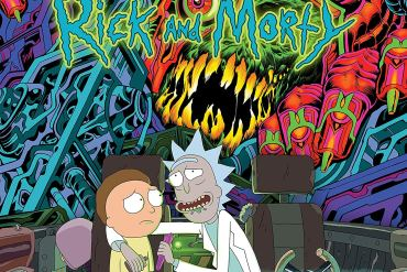 rick and morty dancing feet