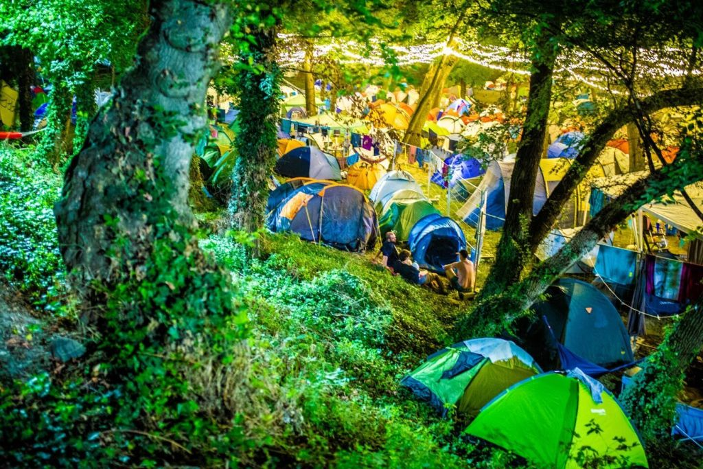 Sziget camping sauvage