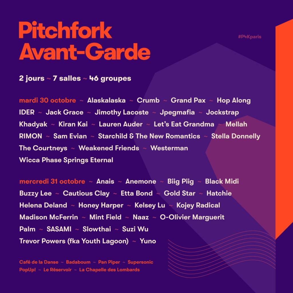 Pitchfork Music Festival Paris dancing feet