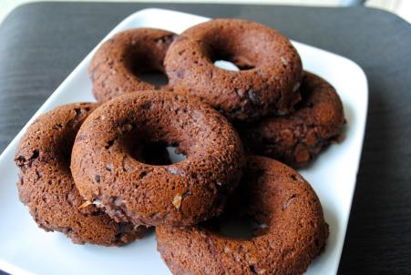 Dancing for Donuts | Baked Chocolate Donuts