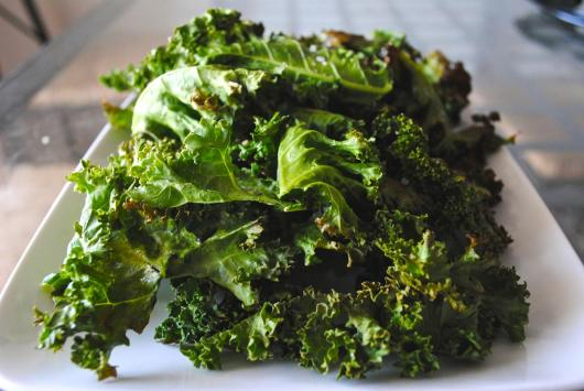 Dancing for Donuts | Kale Chips