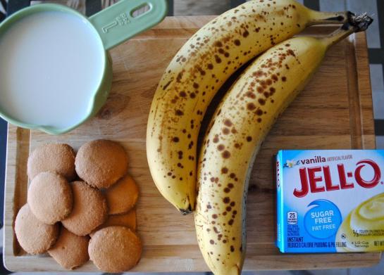 Dancing for Donuts | Guiltless Banana Pudding