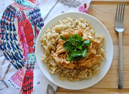 Dancing for Donuts | Slow-Cooker Thai Peanut Chicken.