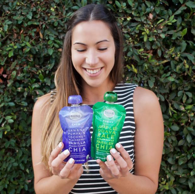 Choosing the Perfect Healthy Afternoon Snack with Shine Organics Superfood Pouches   Dancing for Donuts