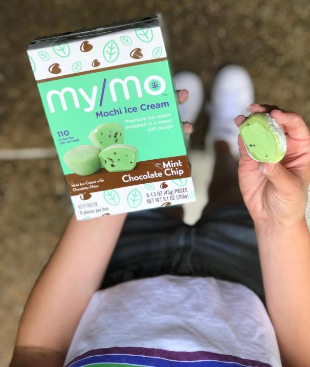 Dancing for Donuts   Poolside Snackin' With My/Mochi Ice Cream #ad