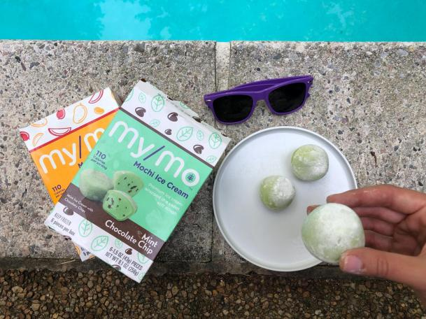 Dancing for Donuts | Poolside Snackin' With My/Mochi Ice Cream #ad
