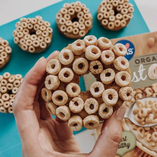 Dancing for Donuts   Cereal Milk Donuts