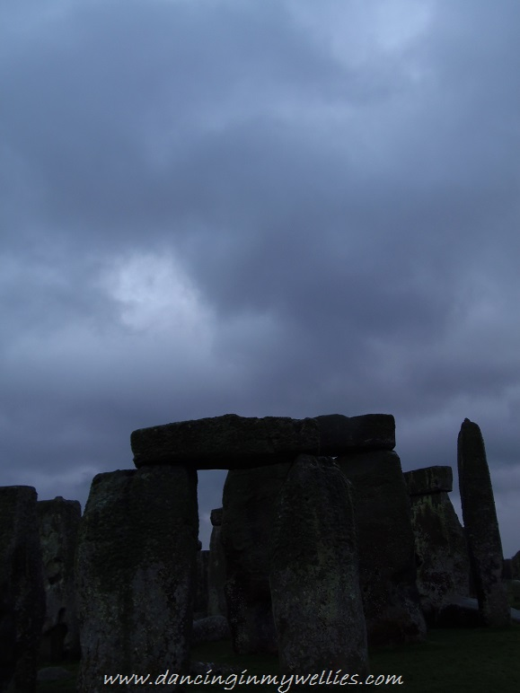 Dramatic skies at Stonehenge