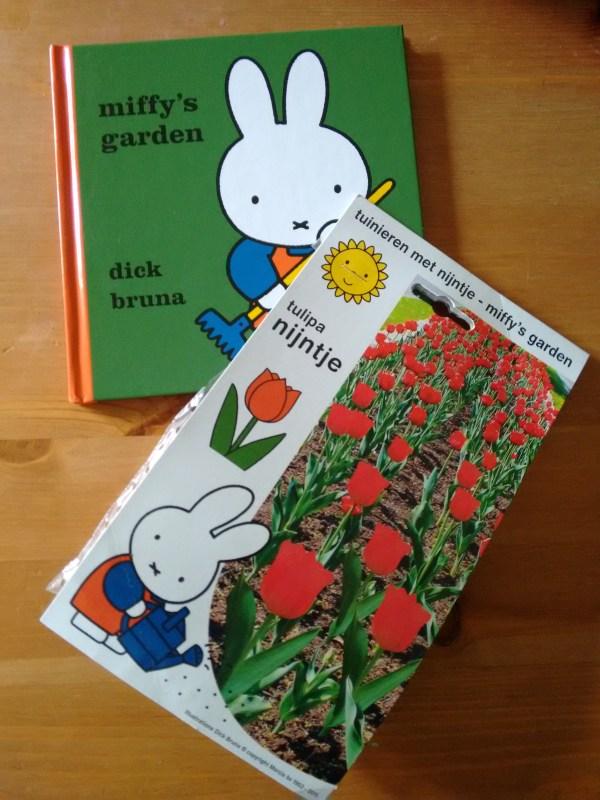 Miffy's Garden and Tulip Bulbs