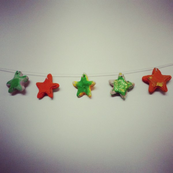 Home made Christmas decorations