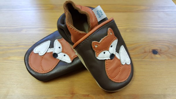 Fox shoes for toddlers