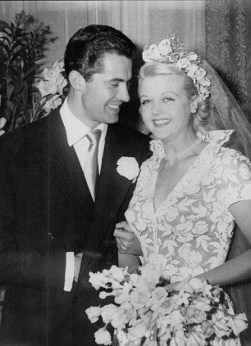 With husband Peter Shaw