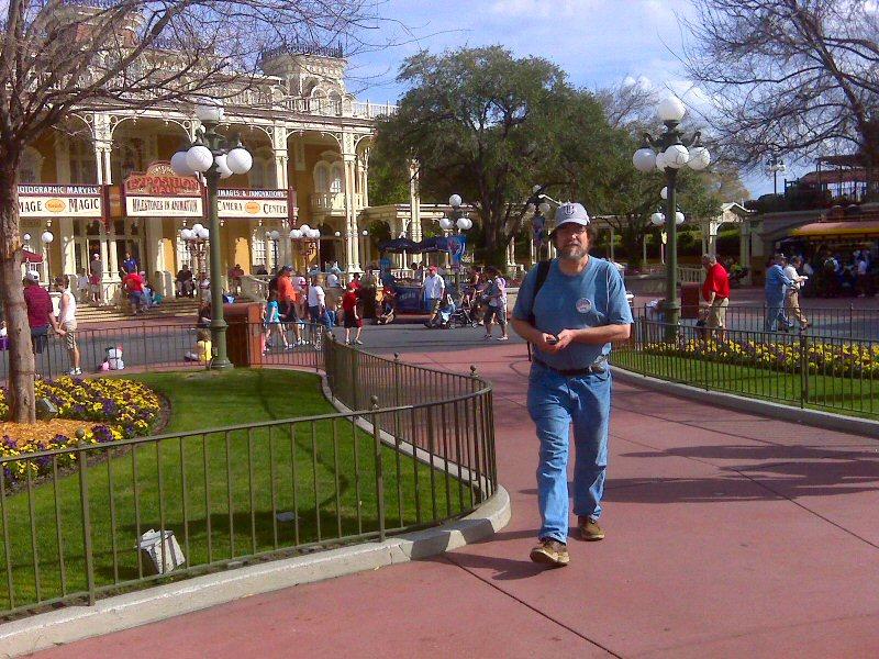 Greg on Main Street