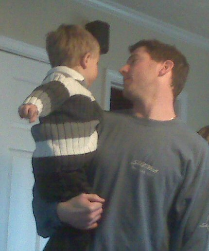 brother Chris and nephew Parker