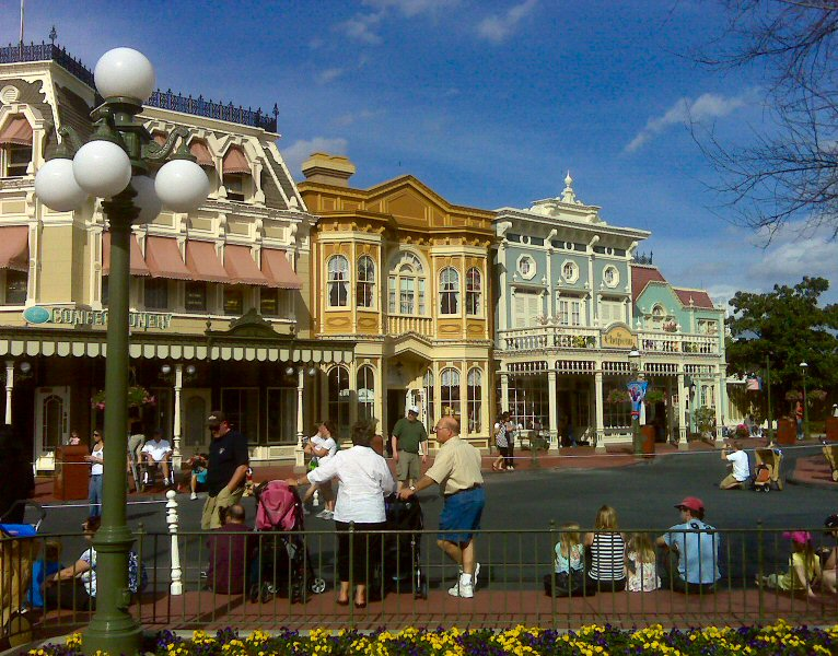 Main Street is photogenic from most every vantage point