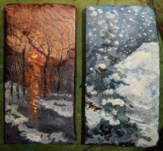 Edible Holiday Postcards