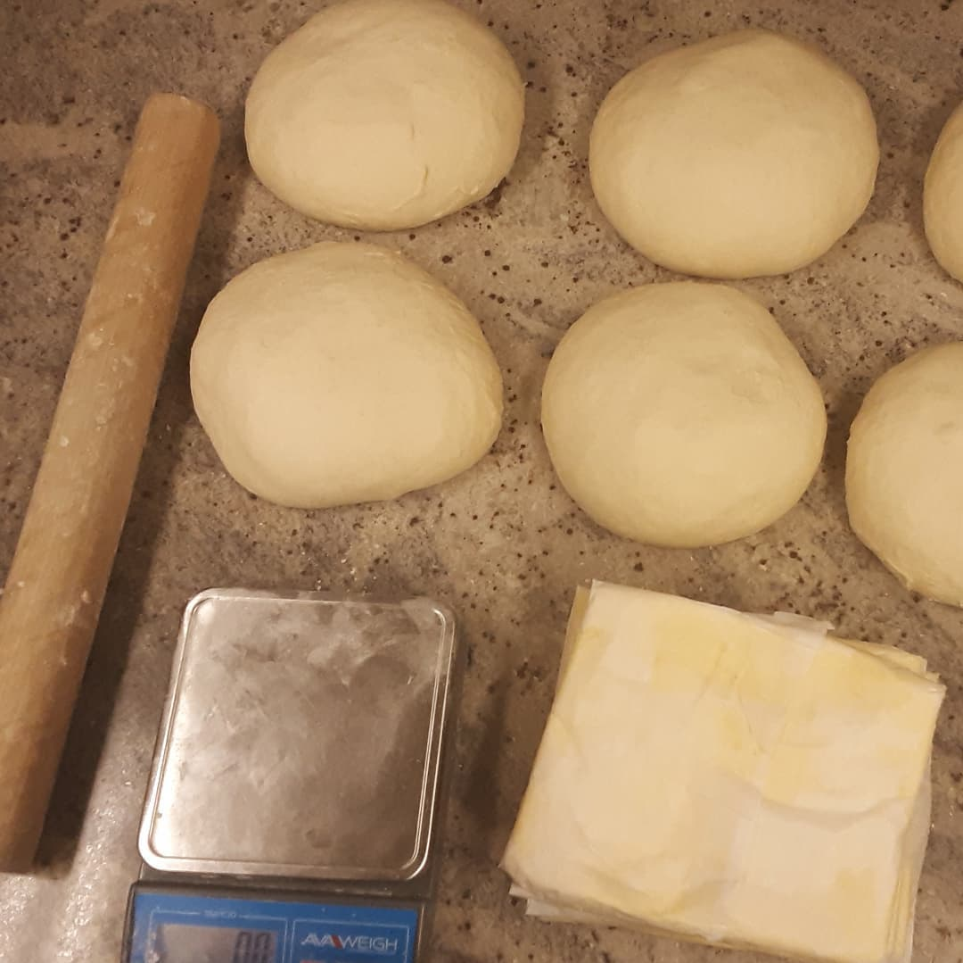 SATURDAY IS CROISSANT DAY, and today I'm making the dough. We'll have Traditional,  Chocolate,  Almond, and Kouignette.#chocolatier #croissants