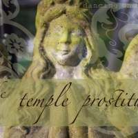 the temple prostitute
