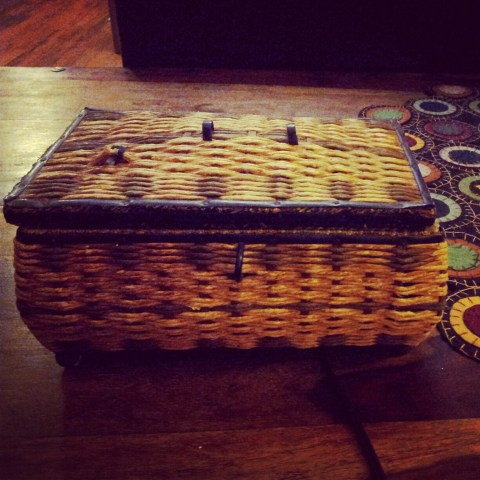 Grandma Eva Sophronia Gordon Palmer -- Grandmother Music Sewing Box