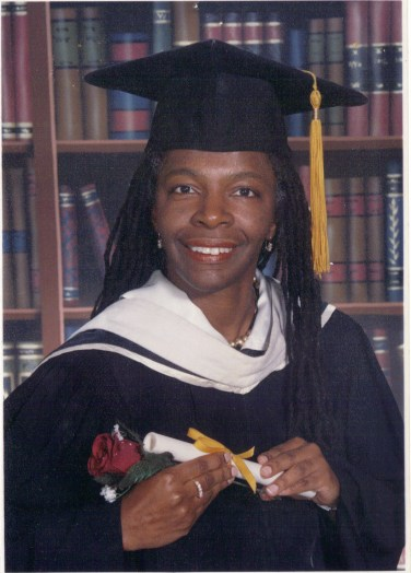 Marymount Manhattan College 2002 Graduation photo