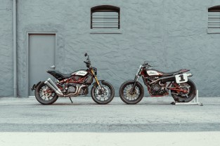 2019 Indian FTR 1200 S and the FTR750 that inspired it