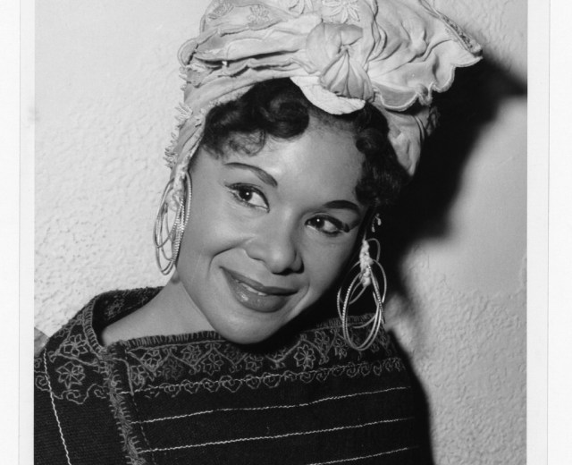 Twachtman, Phyllis. Katherine Dunham in costume. Photograph. Retrieved from the Library of Congress, .