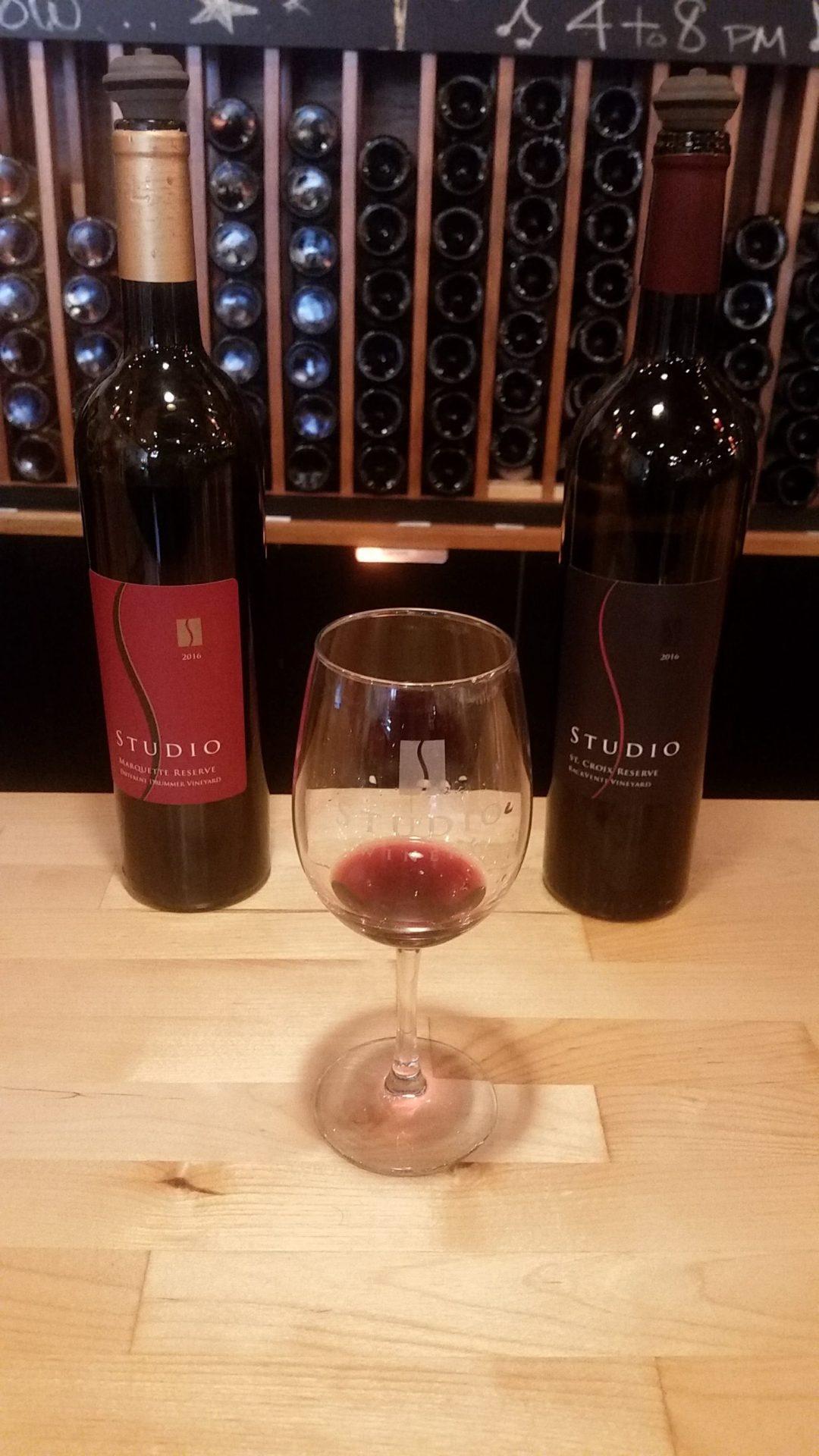 Wine Tasting at Studio Winery in Lake Geneva